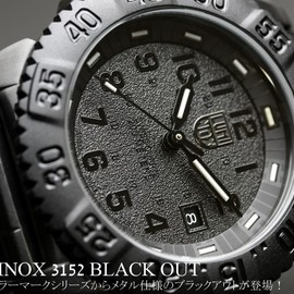 LUMINOX - Navy SEALs COLOR MARK SERIES 3152 BLACKOUT