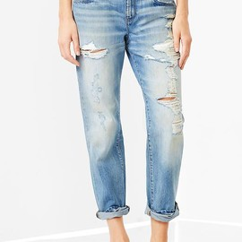 GAP - 1969 destroyed sexy boyfriend jeans Product Image