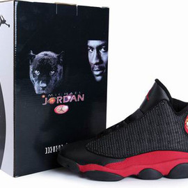 Nike Air Jordan XIII Bred Mens Shoes