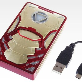 Charge Your Phone With The Iron Man Power Pack & Light Up Arc Reactor