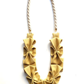 HOMAKO - Origami  Necklace