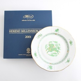 HEREND - 太田 和子さんのHEREND 創立175周年記念プレート 麒麟 2001年
