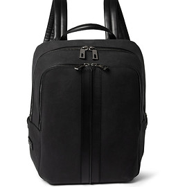 TOD'S - TOD'S NUBUCK LEATHER BACKPACK