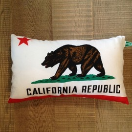 detour life - CALIFORNIA FLAG PILLOW