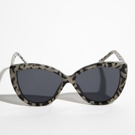 Cheap Monday - Cheap Monday White Leopard Point Sunnies