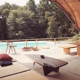 George Nakashima - pool house