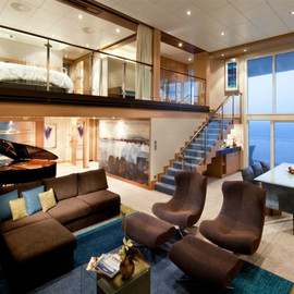 The Royal Loft Suite aboard the Oasis of the Seas(船) - The Royal Loft Suite aboard the Oasis of the Seas(船)
