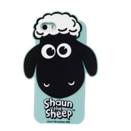 Cute Shaun The Sheep Phone Shell Case for iphone5S