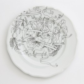 PASS THE BATON - Remake Tableware PLATE 23cm
