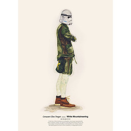 wooszoo - He Wears It 023 - Coruscant Clone Trooper wears White Mountaineering