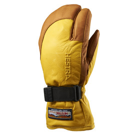 HESTRA - 3087 3-FINGER FULL LEATHER