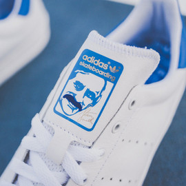 adidas - ADIDAS SKATEBOARDING STAN SMITH VULC – WHITE/ROYAL