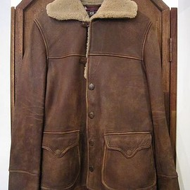 RRL - DERERSKIN RANCH COAT