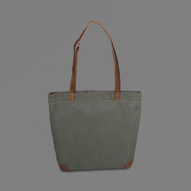 LABOUR AND WAIT - Small Canvas Tote Bag - Green