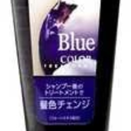 HAIR COLOR BLUE FISH
