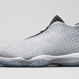 Nike - NIKE AIR JORDAN FUTURE PREMIUM METALLIC SILVER/BLACK-WHITE