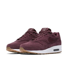 NIKE - Air Max 1 - Burgundy Crush/White/Burgundy Crush