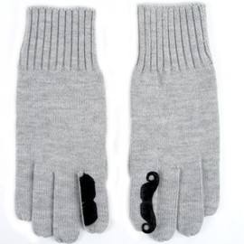 Jack Spade For Colette x Gap - moustache gloves