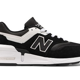 New Balance - M997SBW - Black/White