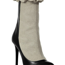 Laurence Dacade - Black Bi-Fabric Ankle Boots