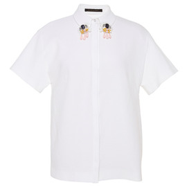 MOTHER OF PEARL - SS2015 Kinley Cotton Piquet Short Sleeved Shirt