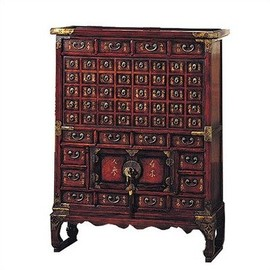 ORIENTAL FURNITURE - Asian Zen Apothecary Chest