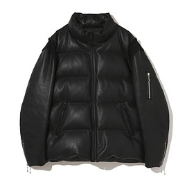 UNDERCOVER, fragment design - 30th Anniversary  Leather sleeve down jacket UCZ9209