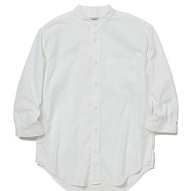 nonnative - OFFICER SHIRT Q/S RELAXED FIT C/P OXFORD COOLMAX®