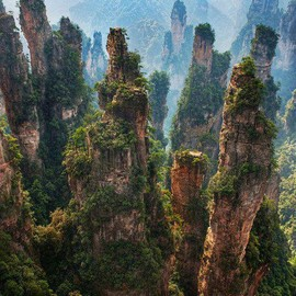 Zhangjiajie China City Of Rocks - travel