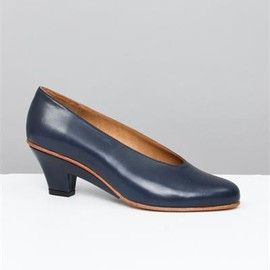 Martiniano - Cut Out Wedge- Navy
