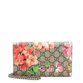 GUCCI - FW2015  GG Blooms printed leather clutch