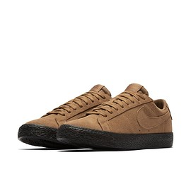 NIKE SB - Blazer Low SB - Brown/Black?