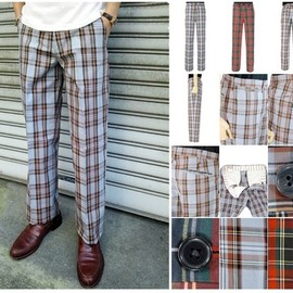 DryBones - Classic Check Trousers