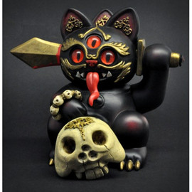 """LULUBELL TOY - Andrew Bell 5"""" Misfortune Cat  - PRE-ORDER"""
