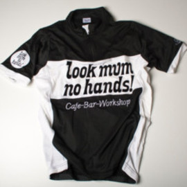 look mum no hands! - LMNH Short Sleeve Jersey black