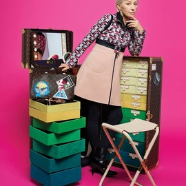 "LOUIS VUITTON, Cindy Sherman - ""Celebrating Monogram Collection"" Makeup Studio in a Trunk by Cindy Sherman"