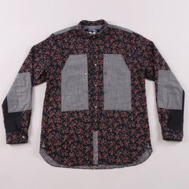 Junya Watanabe Man - Flower Print Cotton Chambray