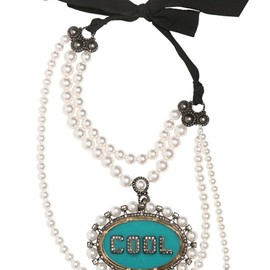 LANVIN - GLORIA 'COOL' REMOVABLE BROOCH NECKLACE