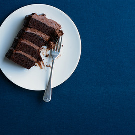donna hay - four tier chocolate layer cake