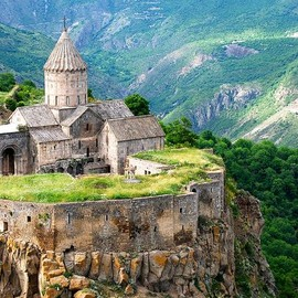 Syunik Province, Armenia - The 9th century old Tatev Monastery