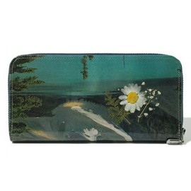 TALKING ABOUT THE ABSTRACTION - Pressed Flower Long Wallet