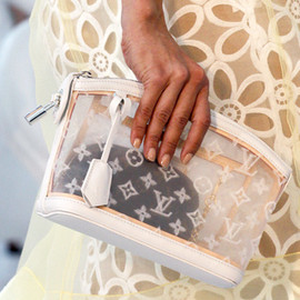 LOUIS VUITTON - monogram pouch S/S 2012
