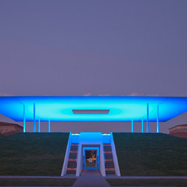 "James Turrell - ""Twilight Epiphany"" skyspace at Rice University"