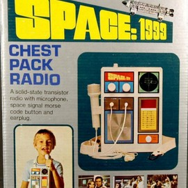 Illco International - SPACE 1999 CHEST PACK RADIO