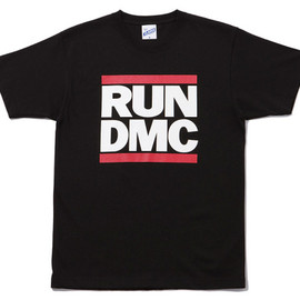 X-Large - RUN D.M.C. Tee in Black