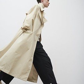 Studio Nicholson - Angstrom Raincoat In Cream