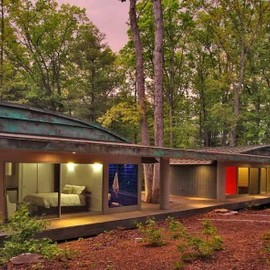 Travis Price Architects designs - a home in the forest
