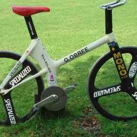 Graeme Obree - world hour record bike 1993