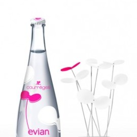 evian - Design Bottle by Courreges
