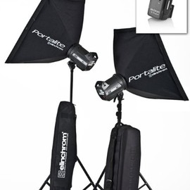 Elinchrom - Elinchrom EL 20751KIT Style 500/500 BXRi To Go Kit